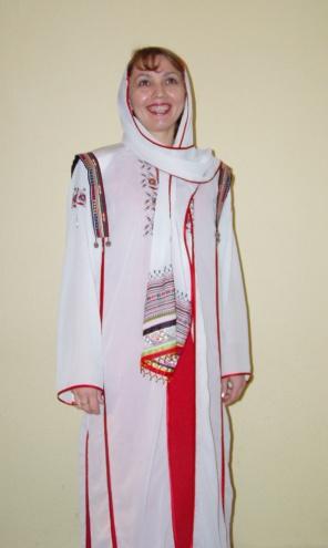 современный чувашский костюм